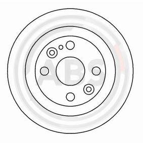 Disco freno A.B.S. 16088 comprare e sostituisci