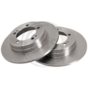 Brake Disc 16207 A.B.S. Secure payment — only new parts