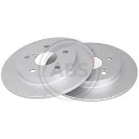 Disco de travão 17831 A.B.S. Pagamento seguro — apenas peças novas