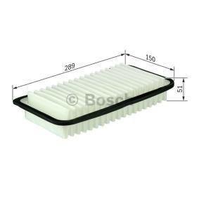 F 026 400 017 Luftfilter BOSCH - Upplev rabatterade priser