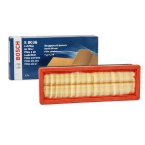 Luftfilter BOSCH F 026 400 036 Pkw-ersatzteile für Autoreparatur