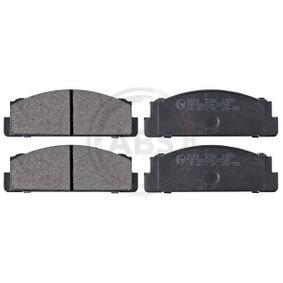 комплект спирачно феродо, дискови спирачки A.B.S. 36004 купете и заменете