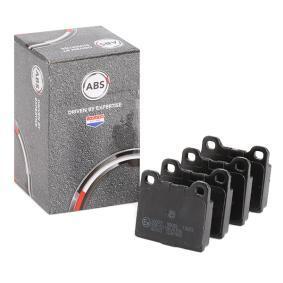 комплект спирачно феродо, дискови спирачки 36009 за VW KAEFER на ниска цена — купете сега!