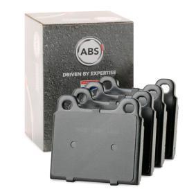 комплект спирачно феродо, дискови спирачки A.B.S. 36025 купете и заменете