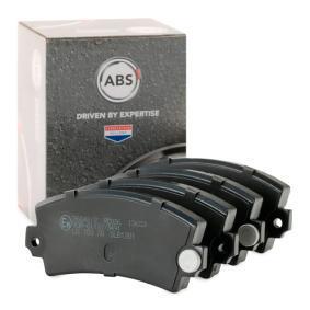 комплект спирачно феродо, дискови спирачки A.B.S. 36042/2 купете и заменете