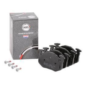 Jogo de pastilhas para travão de disco 36580 com uma excecional A.B.S. relação preço-desempenho