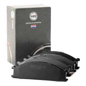 комплект спирачно феродо, дискови спирачки 36657 с добро A.B.S. съотношение цена-качество