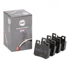 комплект спирачно феродо, дискови спирачки 36687 с добро A.B.S. съотношение цена-качество
