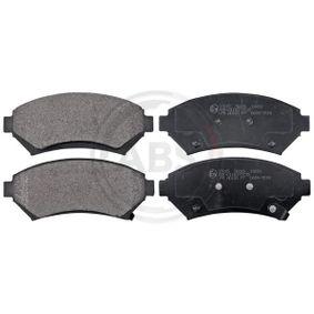 комплект спирачно феродо, дискови спирачки A.B.S. 37015 купете и заменете