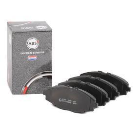 Compre e substitua Jogo de pastilhas para travão de disco A.B.S. 37139