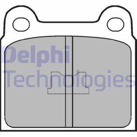 Compre e substitua Jogo de pastilhas para travão de disco DELPHI LP76