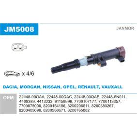 Achetez et remplacez Bobine d'allumage JM5008