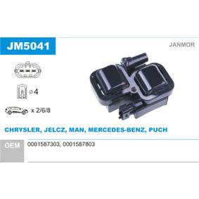 Bobine d'allumage JM5041 à un rapport qualité-prix JANMOR exceptionnel