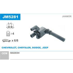 Achetez et remplacez Bobine d'allumage JM5281