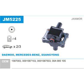 Bobine d'allumage JM5225 à un rapport qualité-prix JANMOR exceptionnel