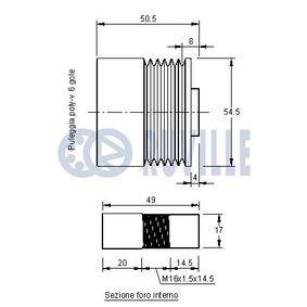 Testa barra d'accoppiamento RUVILLE 915269 comprare e sostituisci