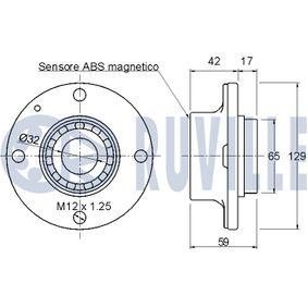 Compre e substitua Suporte de apoio do conjunto mola/amortecedor RUVILLE 825314