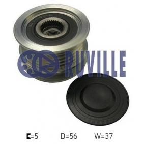 buy RUVILLE Alternator Freewheel Clutch 59976 at any time