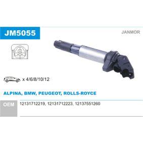 Bobine d'allumage JM5055 JANMOR Paiement sécurisé — seulement des pièces neuves