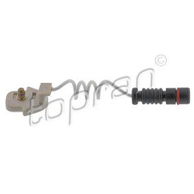 compre TOPRAN Sensor, desgaste das pastilhas de travão 400 984 a qualquer hora