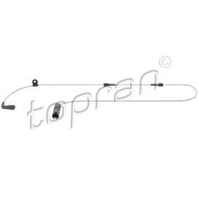 датчик, износване на накладките 500 658 с добро TOPRAN съотношение цена-качество