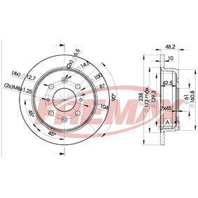 buy and replace Brake Disc FREMAX BD-0817