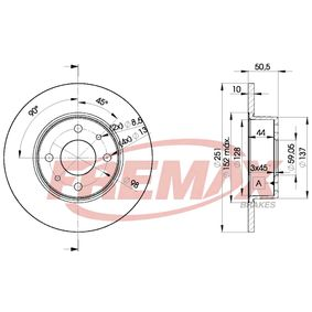 Brake Disc BD-4070 FREMAX Secure payment — only new parts