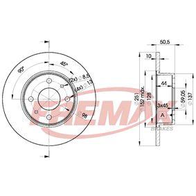 Disque de frein BD-4070 FREMAX Paiement sécurisé — seulement des pièces neuves