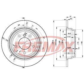 Disco de travão BD-4129 FREMAX Pagamento seguro — apenas peças novas