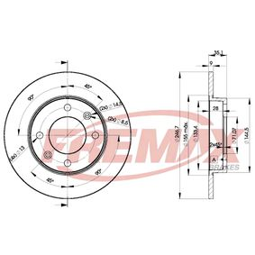 Brake Disc BD-4746 FREMAX Secure payment — only new parts