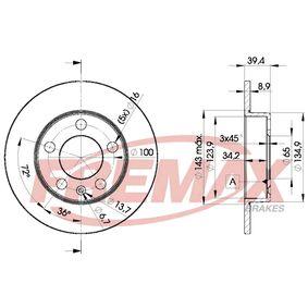 Bremsscheibe von FREMAX - Artikelnummer: BD-5601