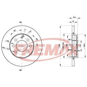 Brake Disc BD-5607 FREMAX Secure payment — only new parts