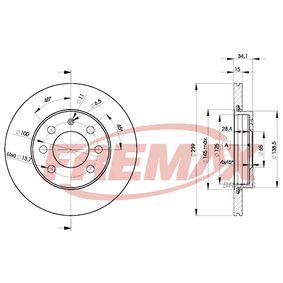 Disco de travão BD-5607 FREMAX Pagamento seguro — apenas peças novas