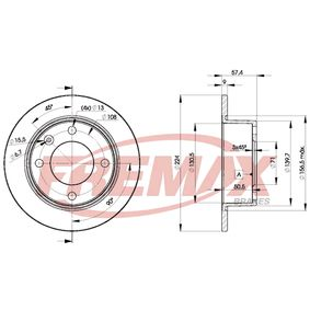 Brake Disc BD-7811 FREMAX Secure payment — only new parts