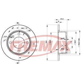 Disco de travão BD-7811 FREMAX Pagamento seguro — apenas peças novas