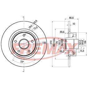 Bremsscheibe von FREMAX - Artikelnummer: BD-7898