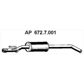 buy EBERSPÄCHER Front Silencer 672.7.001 at any time