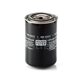 palivovy filtr WK 932/2 MANN-FILTER Zabezpečená platba – jenom nové autodíly