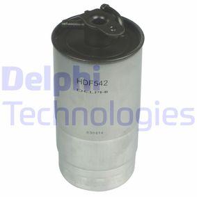 palivovy filtr HDF542 s vynikajícím poměrem mezi cenou a DELPHI kvalitou