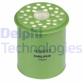 palivovy filtr HDF912 DELPHI Zabezpečená platba – jenom nové autodíly