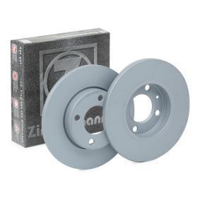 Disque de frein 600.1158.20 ZIMMERMANN Paiement sécurisé — seulement des pièces neuves