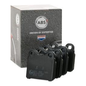комплект спирачно феродо, дискови спирачки A.B.S. 36010 купете и заменете