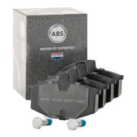 комплект спирачно феродо, дискови спирачки A.B.S. 36108 купете и заменете