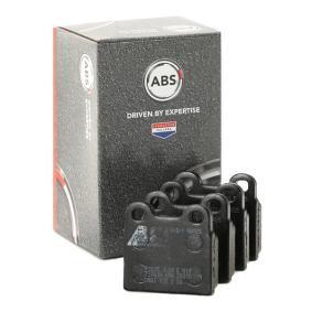 комплект спирачно феродо, дискови спирачки A.B.S. 36010/1 купете и заменете
