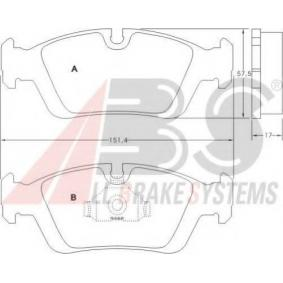 Brake Pad Set, disc brake 36678 OE - find, compare the prices and save!