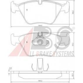 Brake Pad Set, disc brake 37036 OE - find, compare the prices and save!