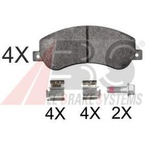 комплект спирачно феродо, дискови спирачки 37793 OE за VW AMAROK на ниска цена — купете сега!