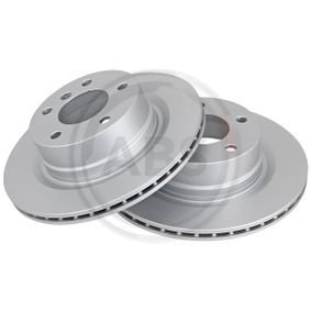 Brake Disc 18172 with an exceptional A.B.S. price-performance ratio