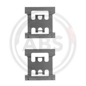 Köp och ersätt Tillbehörssats, skivbromsbelägg A.B.S. 1083Q