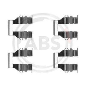acheter A.B.S. Kit d'accessoires, plaquette de frein à disque 1199Q à tout moment